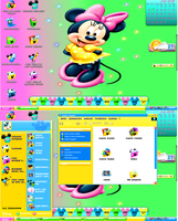 disney desktop by lillysim