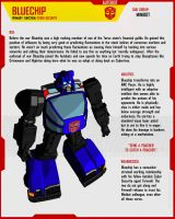 MINIBOT BLUECHIP by F-for-feasant-design