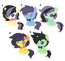 Potion x Tristis foals [CLOSED] by Icicle212