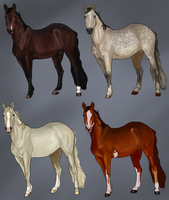 Horse Adopts  [Closed] by Rosela