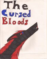 a cursed bloods title page by Animedevildeman
