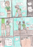Romano x OC Comic: The Proposal Part 1 by JapaneseRedWolf