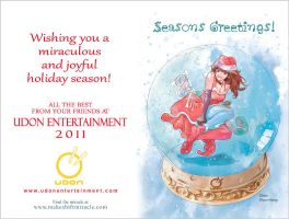 UDON XMas Card 2011 by Zubby