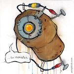 GLaDOS by poopbird