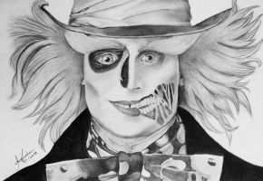 My Hatter Zombi in gray by annnacintra