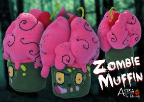 Zombie Muffin by Astreum87