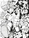 Crash Bandicoot Tribute by KrumpZero