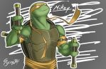 Turtle Time - Mikey by SycrosD4
