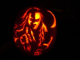 Graverobber Pumpkin 2009 by MidnightMadwoman