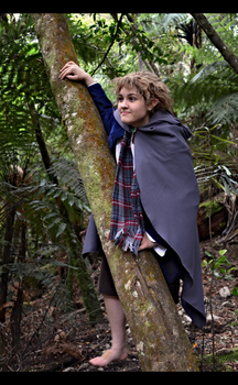 LOTR - Pippin in the Forest by da-rk