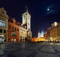 PRAGUE, Old Town Square by UNexperienced