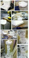 Work In Progress 02: Mould and Base by Eldemorrian