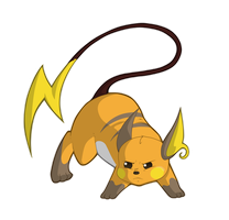 Raichu by TheSketchADoodle