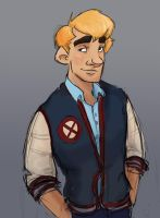 Older Russell by Prydester