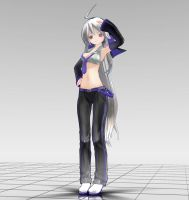 Appearance Haku MMD download by Reon046