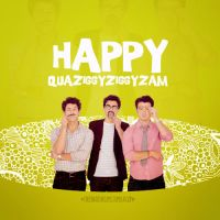 Happy Quaziggyziggyzam by micamoneo