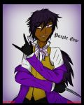 Purple guy as Grell ( Vincent ) by Ask-FNAF