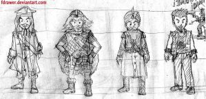 Character Design Vello Secuencial by fdrawer