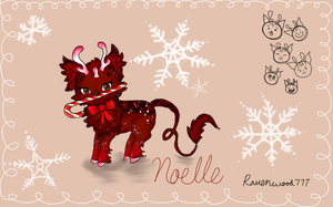 Noelle -- Minkin DTA by Ravenwood777