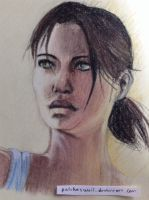 Chell - sketch book by PatchesWolf