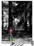 Girl in the Wood by SageOwl