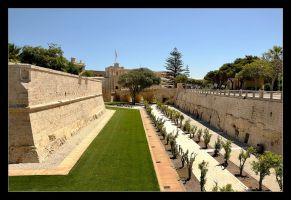 Walls Of Mdina by skarzynscy