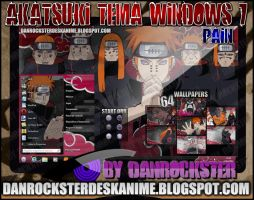 Pain Theme Windows 7 by Danrockster