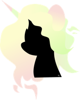 Dango silhouette (request) by kaleidoscopeColor
