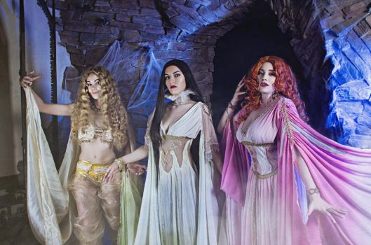 The Brides of Dracula. Eternal Beauty by Afemera