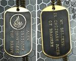 Divergent Dauntless dog tag by TimforShade