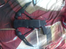 GOW: Torque Bow progress 3 by KindiChan
