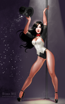 Commission: Zatanna by MSonia