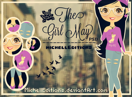 The Girl May PSD Doll by MichellEditions