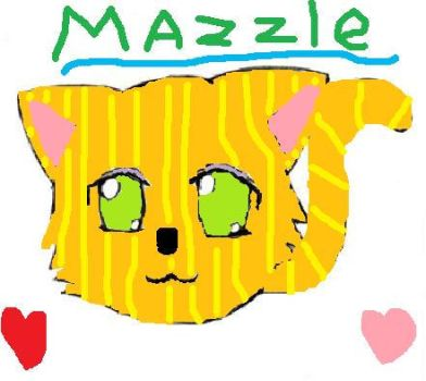 Mazzle the cat by AngelKiss1