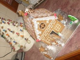 Gingerbread House (9) by jess13795