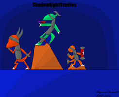 ShadowLightStudios Poster by SuperiorCrown24