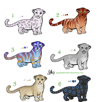 Feline Adopts- PRICES SLASHED by graphiteforlunch