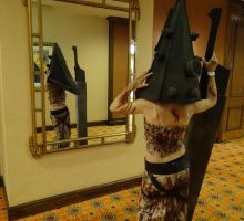 Pyramid Head at Days of the Dead by Cosplay4UsAll