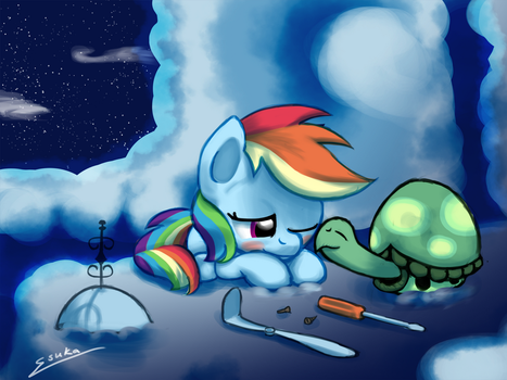 S03 11: A Little Late Night Maintenance by Esuka