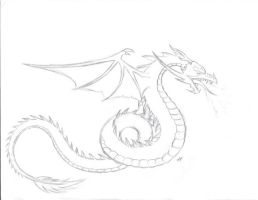 Dragon Tatoo 1 by WyvernFlames