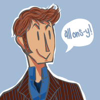 10th Doctor by iskizzers