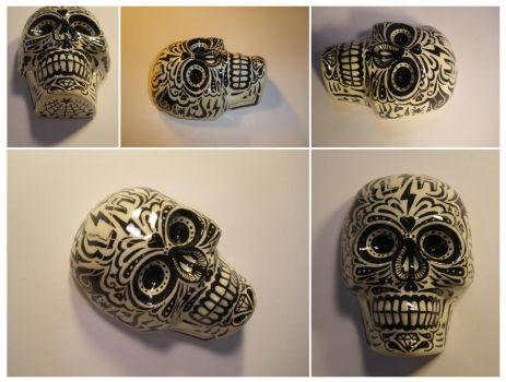 LA SUGAR SKULL 1 by luther1000