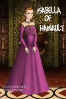 Isabella of Hainault by daretoswim7709