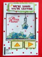 Handmade Toy Story Grab Machine Leaving Card by PossumPip-Creations