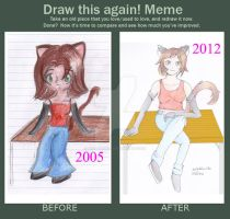 draw this again meme 2 by Aiko-Hirocho