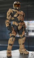 Master Chief - Desert Scheme by SgtHK