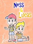 Ness and Lucas by Candy-Swirl