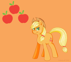 Look, it's Applejack by DaikaLuff