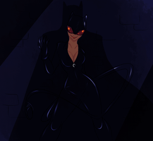 Catwoman by Vixcoon