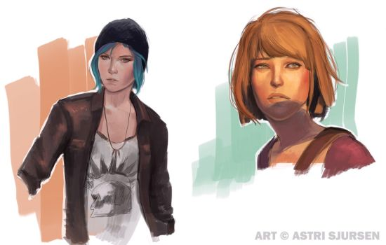 Life Is Strange Doodles by Astri-Lohne